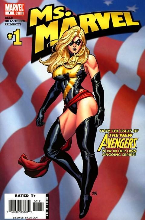 Ms. Marvel Vol. 2 #1 – 50 + Extras (2006-2010)