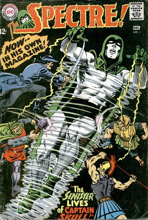 The Spectre Vol. 1 #1 – 10 (1967-1969)