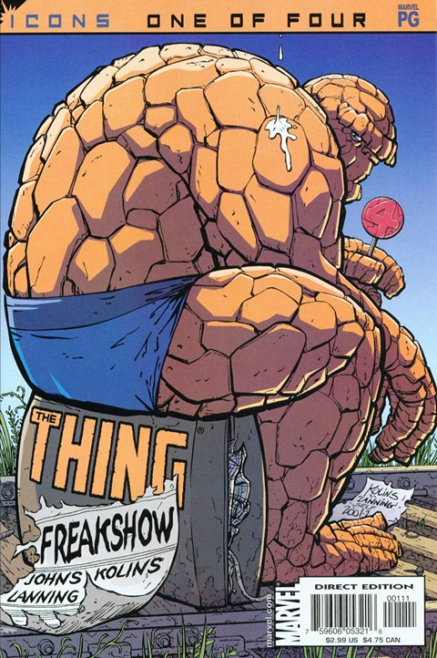 The Thing – Freakshow #1 – 4