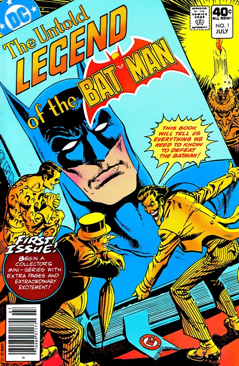 The Untold Legend of the Batman #1 – 3 (1980+2010)