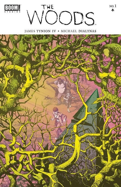 The Woods #1 – 36 + TPB Vol. 1 – 9 (2014-2018)