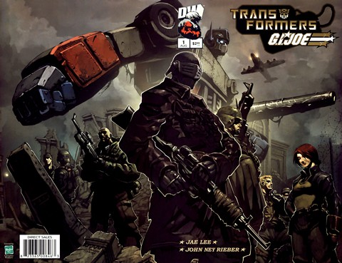 Transformers & G.I. Joe #1 – 6