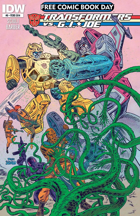 Transformers Vs G.I. Joe #0 – 6 + TPB Vol.1