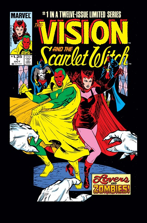 Vision and the Scarlet Witch #1 – 12