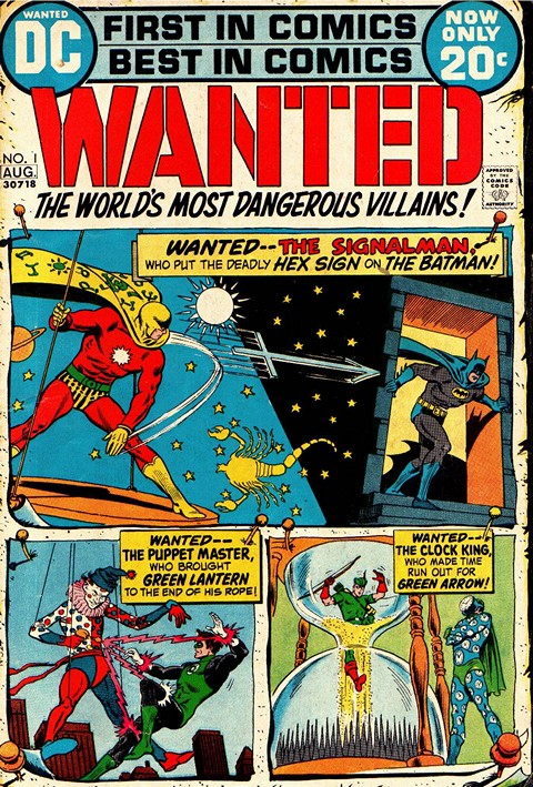Wanted the World's Most Dangerous Villains #1 – 9