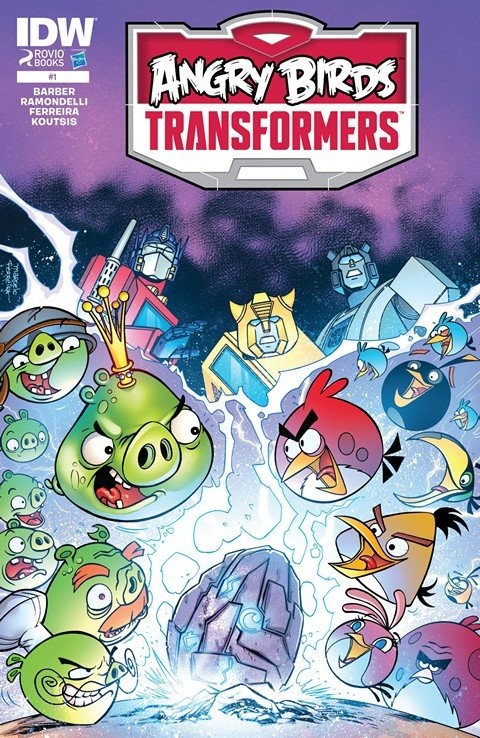 Angry Birds – Transformers #1 – 4