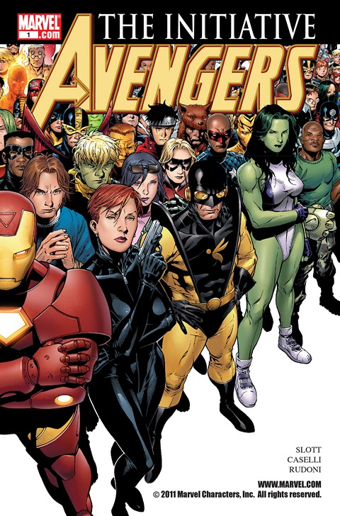 Avengers – The Initiative (+Tie-Ins) Pack