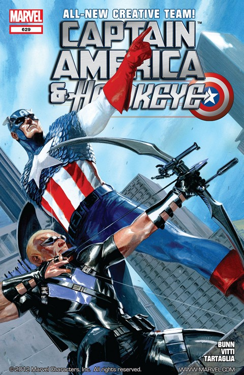 Captain America and Hawkeye #629 – 632