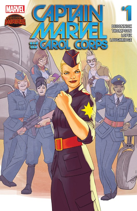 Captain Marvel and the Carol Corps #1