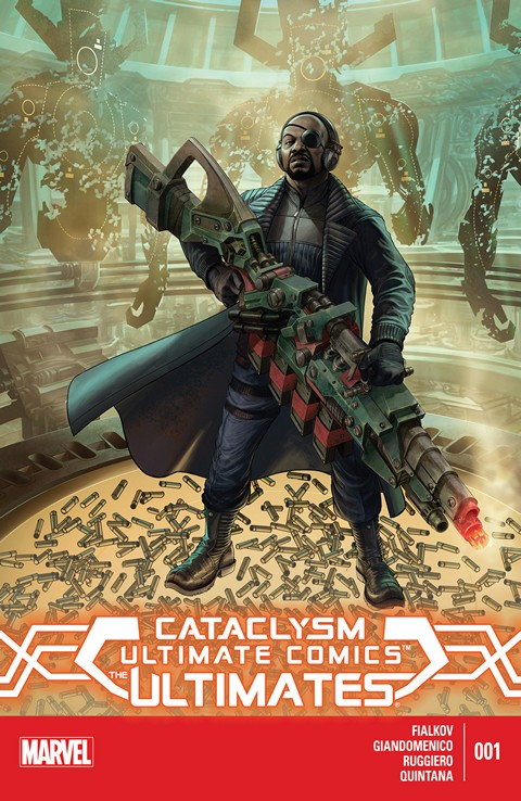 Cataclysm Ultimate Comics The Ultimates #1 – 3 (2013-2014)