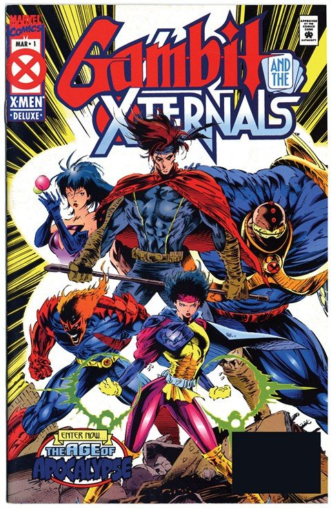 Gambit and the X-Ternals #1 – 4