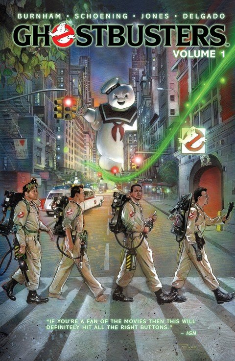 Ghostbusters Vol. 1 – 4 (TPB)