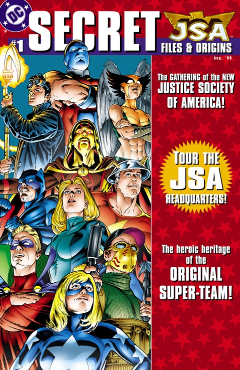 JSA – Secret Files & Origins #1