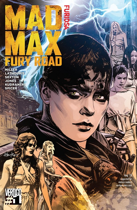 Mad Max- Fury Road – Furiosa #1