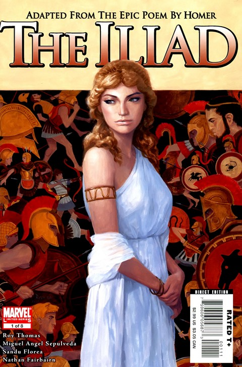 Marvel Illustrated – The Iliad #1 – 8