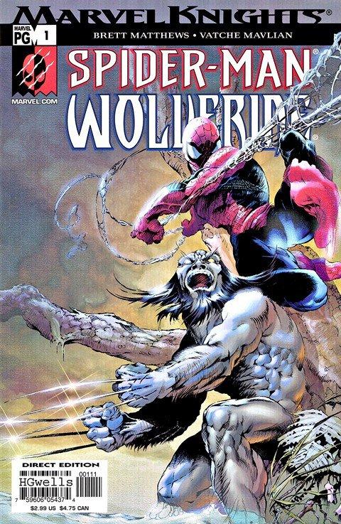 Marvel Knights – Spider-Man & Wolverine #1 – 4