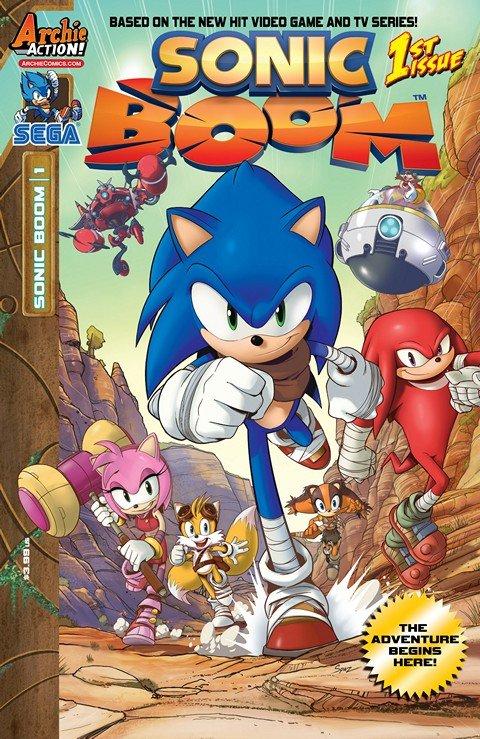 Sonic Boom #1 – 11 (2014-2015)