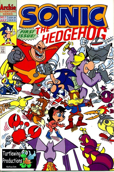 Sonic The Hedgehog #1 – 290 (1993-2017)