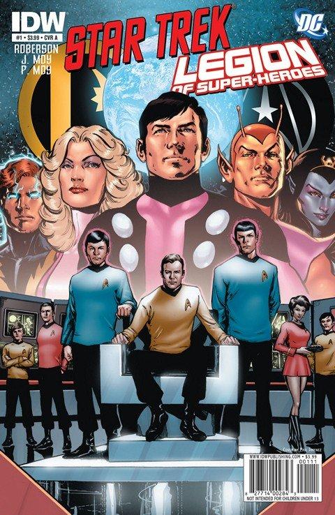 Star Trek-Legion Of Super-Heroes #1 – 6