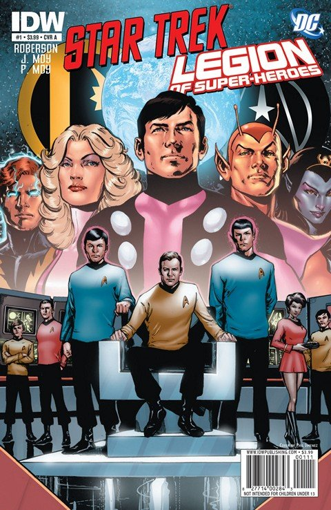Star Trek-Legion Of Super-Heroes #1 – 6 (2011-2012)