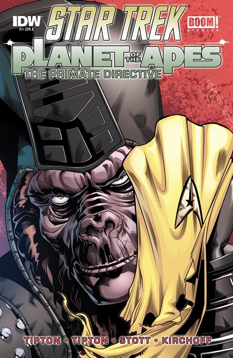 Star Trek Planet Of The Apes #1 – 5
