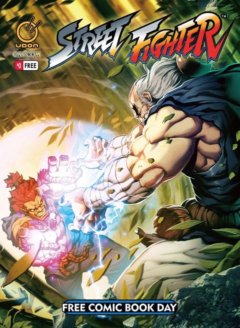 Street Fighter #0 (FCBD 2014)