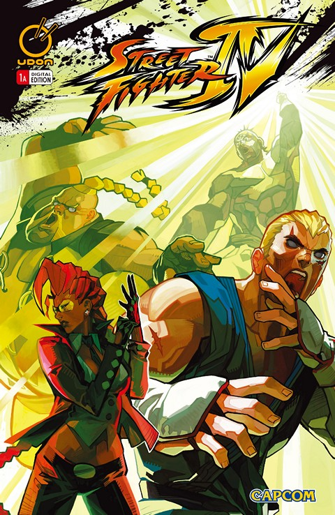 Street Fighter IV #1 – 4