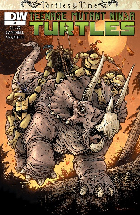 Teenage Mutant Ninja Turtles – Turtles in Time #1 – 4 (2014)