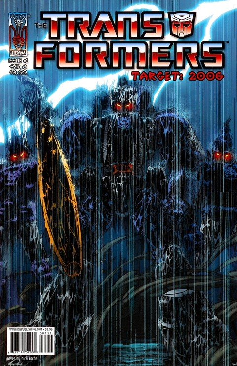 The Transformers Target 2006 #1 – 5 (2007)