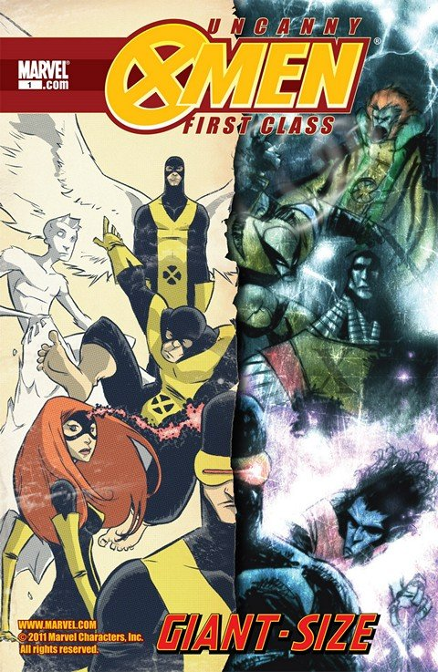 Uncanny X-Men – First Class Giant-Size Special #1
