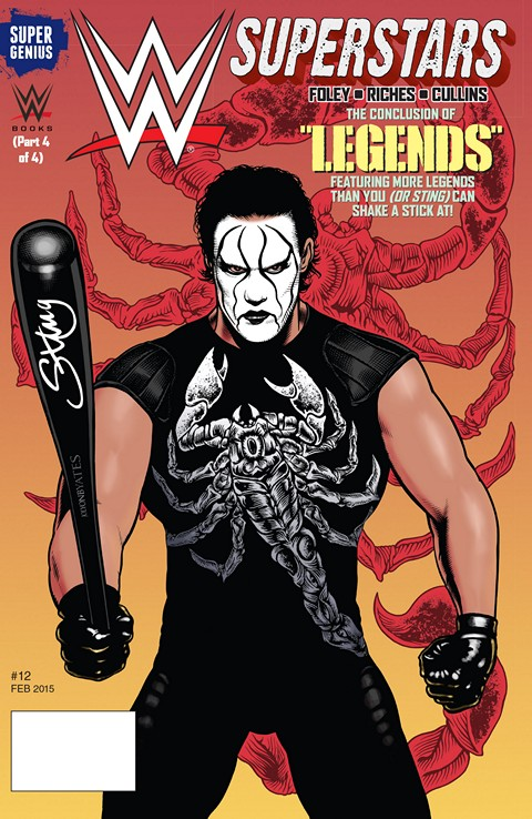 WWE Superstars #1 – 12