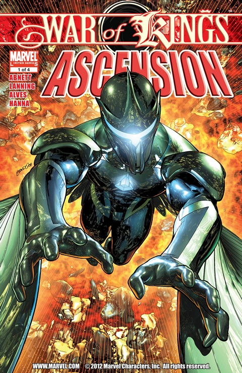 War of Kings – Ascension #1 – 4 (2009)