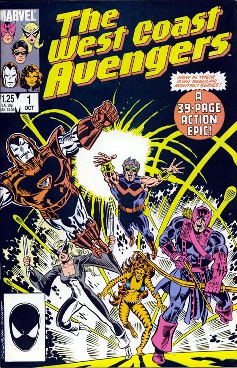West Coast Avengers #1 – 102 + Mini Series