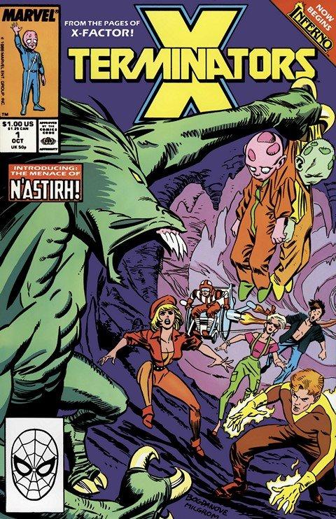 X-Terminators #1 – 4 (1988)