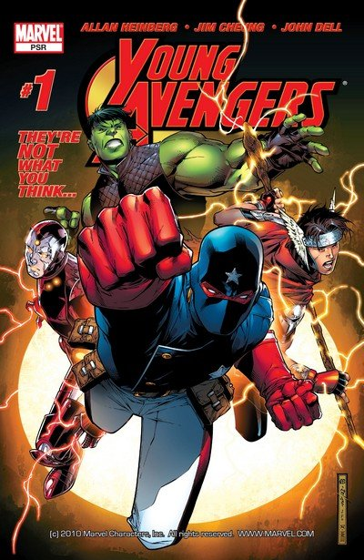 Young Avengers Vol. 1 #1 – 12 (2005-2006)