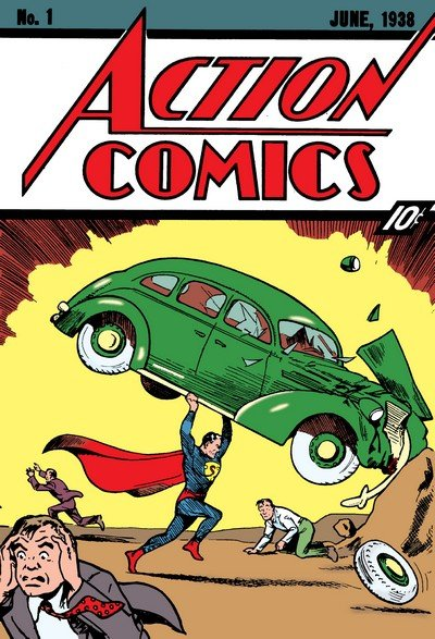 Action Comics #0 – 904 + 1,000,000 + Annuals (1938-2011) (Complete)