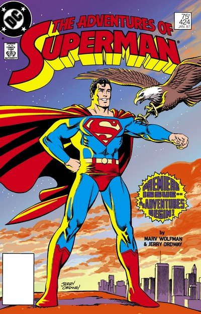 Adventures of Superman #0 + 424 – 649 + 1,000,000 + Annual (1986-2006)
