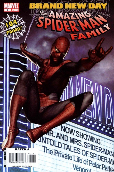 Amazing Spider-Man Family #1 – 8