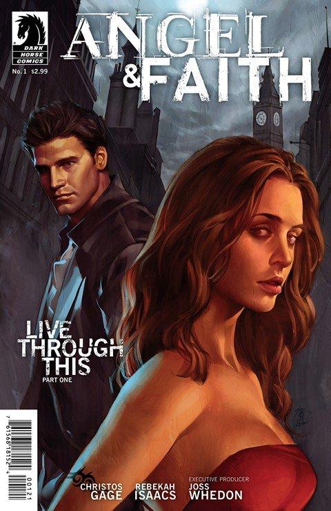 Angel and Faith Season 9 #1 – 25