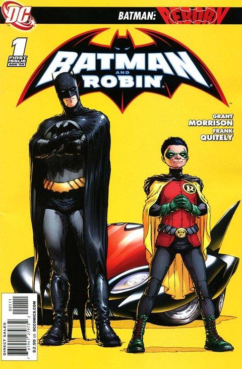 Batman and Robin Vol. 1 #1 – 26