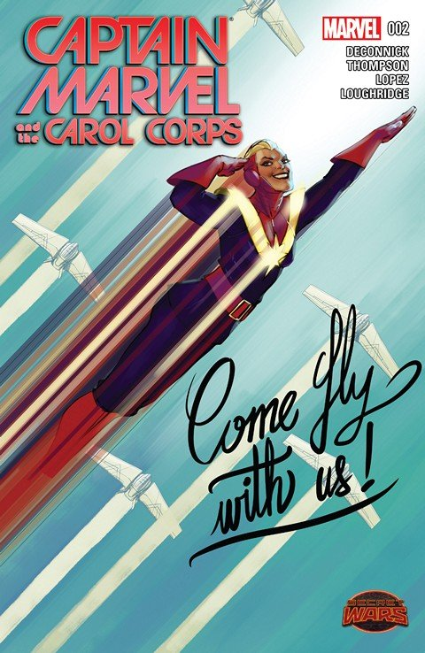 Captain Marvel and the Carol Corps #2