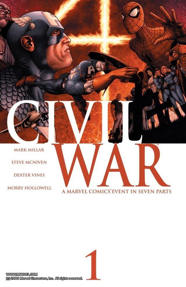 Civil War #1 – 7 (2006-2007)