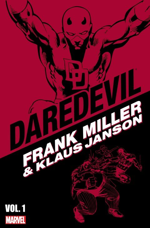 Daredevil by Frank Miller and Klaus Janson Vol. 1 – 3 (2008-2009)