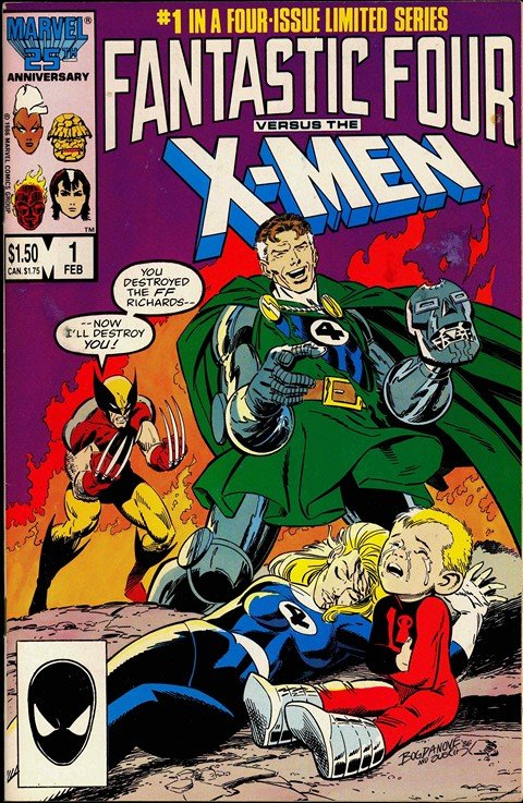 Fantastic Four Vs. X-Men #1 – 4