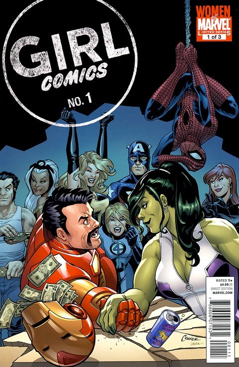 Girl Comics #1 – 3 (Marvel)