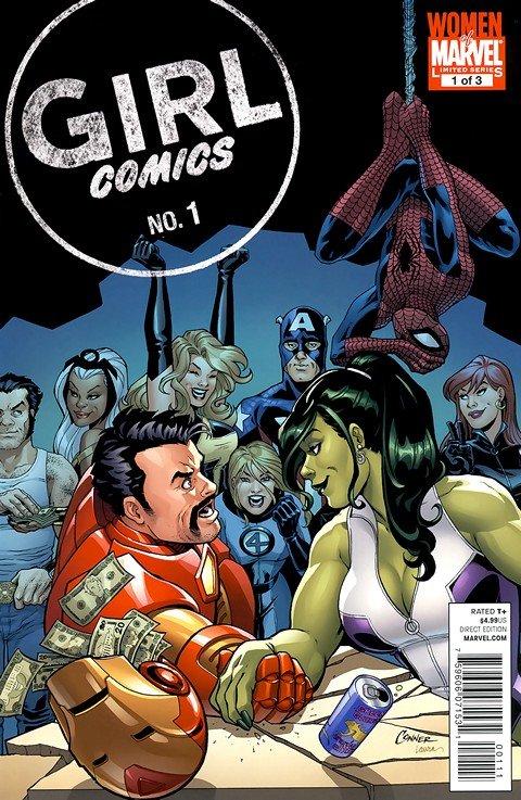 Girl Comics #1 – 3 (Marvel)