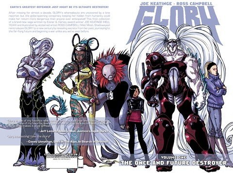 Glory Vol. 1 – 2 (TPB) (2012-2013)