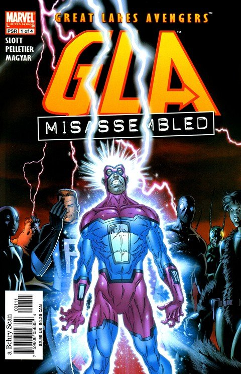 Great Lakes Avengers #1 – 4 + Extras