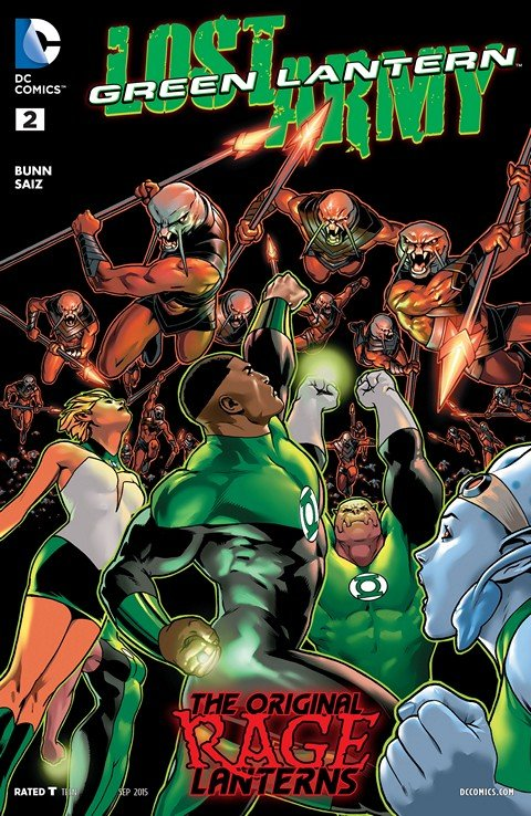 Green Lantern The Lost Army #2