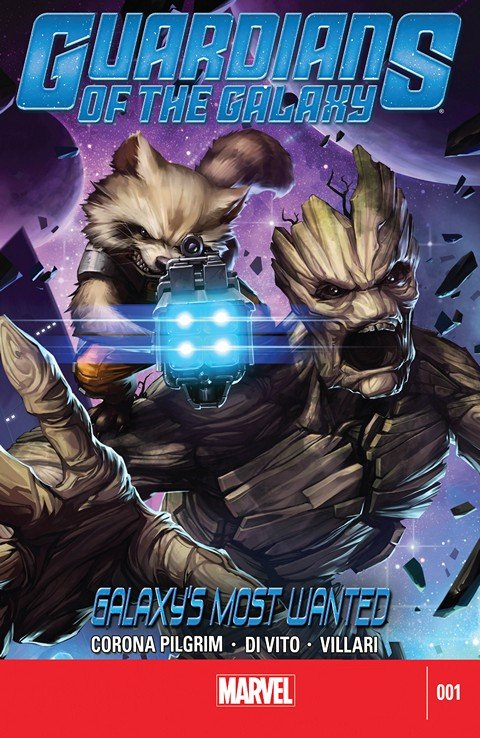 Guardians of the Galaxy – Galaxy's Most Wanted #1